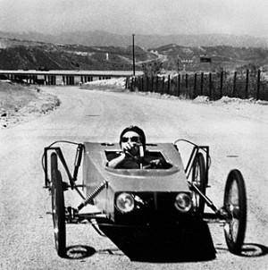 B-Car, Saugus California, Chris Burden 1976