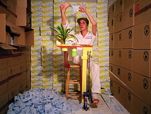 Felicia from Tropical Breeze, Mika Rottenberg 2004