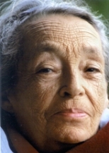 Marguerite Duras 1991 © Hélène Bamberger