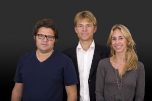 Newsmill's editorial staff: Leo Lagercrantz, PM Nilsson and Karin Eder Ekman