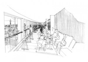 Paramount, Center Point, sketch by Tom Dixon