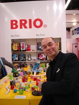 BRIO's creative director Claes von Hauswolff