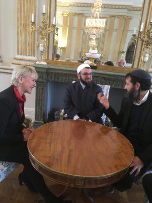 Ha-Cohen and Barakat with Margot Wallström